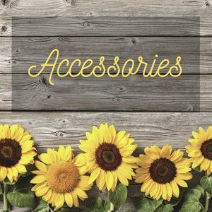 Accessories - add a little pizzazz